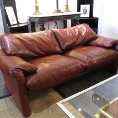 70s Sofa Inflatable Air Chair A 70 S Maralunga Italian Leather Two Seater In Seating