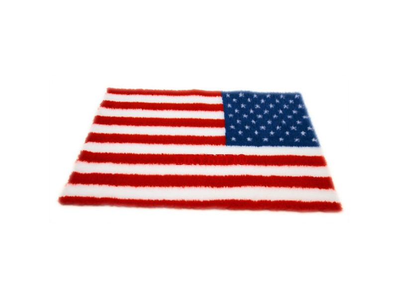 tapis chien drybed antiderapant drapeau usa