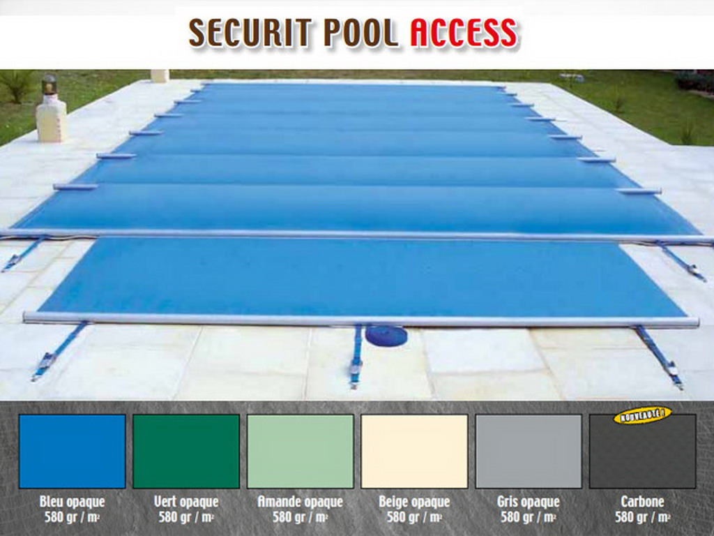 couverture de securite a barres apf access 4 saisons pour piscines enterrees