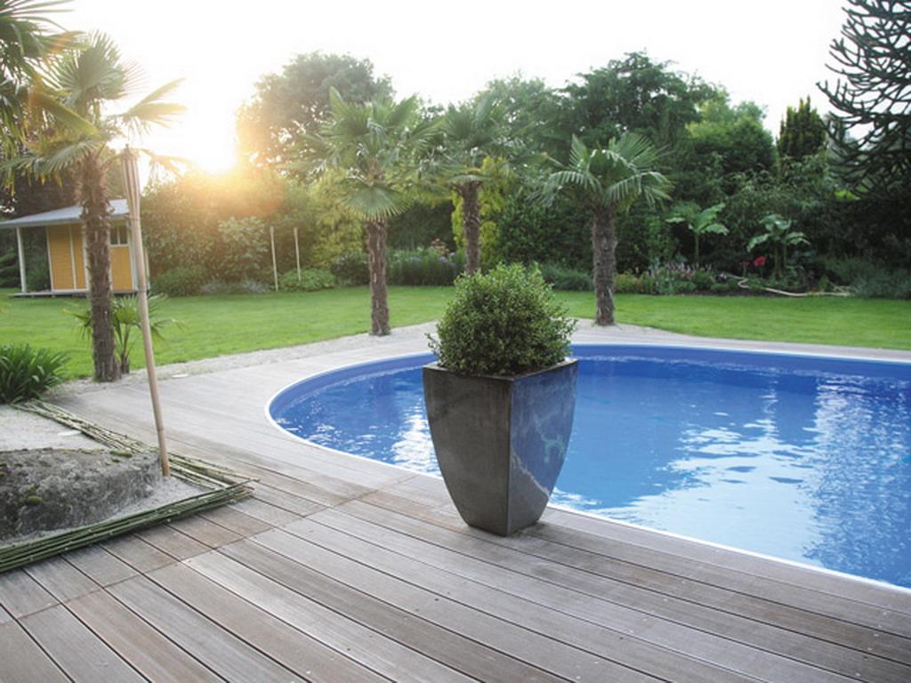 kit piscine enterree aqualux acier ovale 7x3 50x1 50m