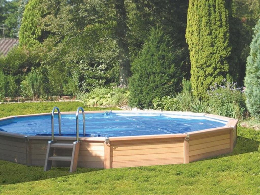 Kit piscine semienterre AZTECK ronde sur MarchdelaPiscinecom