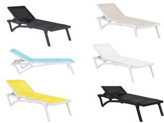 jardin banc et hamac chaise longue