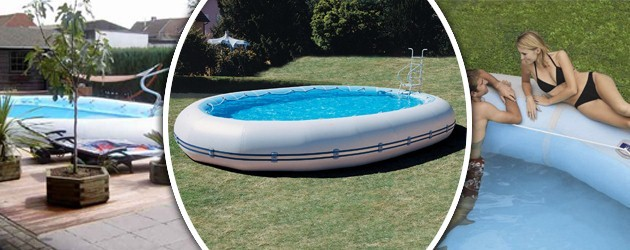 Kit piscine horssol autoportante Zodiac OVLINE 4000 ovale