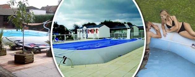 Kit piscine horssol autoportante Zodiac HIPPO 40 rectangulaire 1180 x 770 x 125m sur