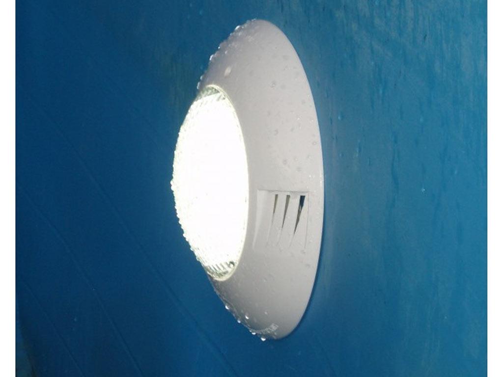 projecteur piscine bois ubbink led 350 blanc