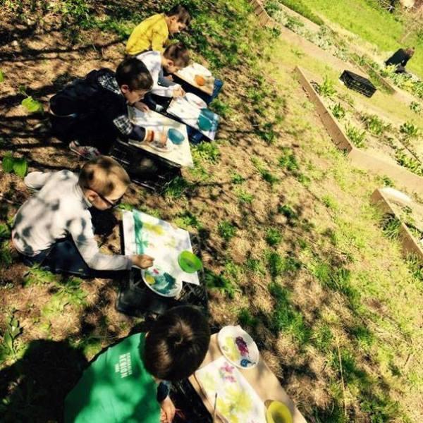 acquerelli-nell'orto-bambini