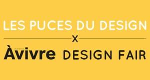 Logo Puces du Design Marché de la Mode Vintage Paris