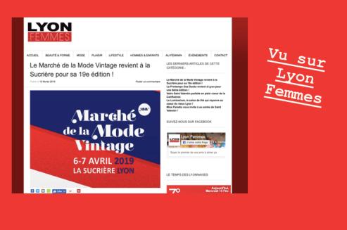 Revue de presse Lyon Femme