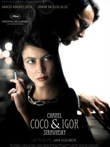 films de mode - coco - chanel - igor - stravinsky