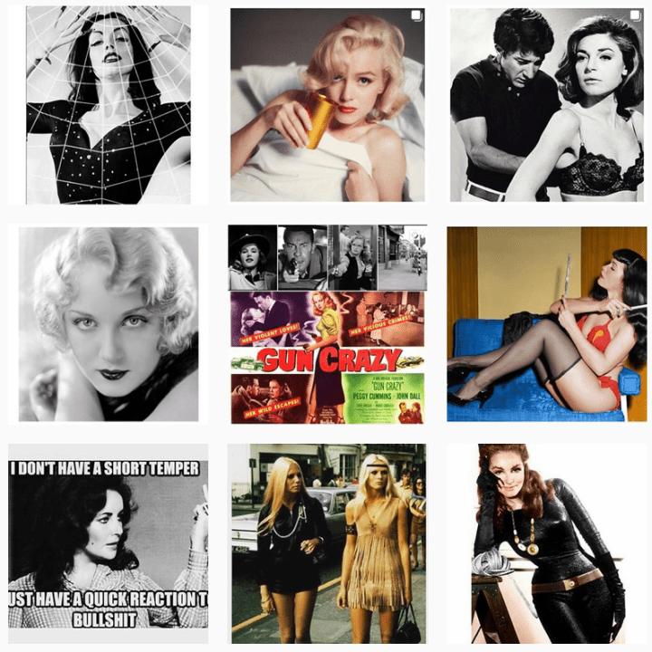 instagram vintage - vintage - vixens