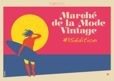 Journée internationale du surf visuel Marché de la Mode Vintage