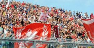 I tifosi dell'Ancona al Del Conero