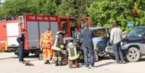 Incidente via Bisciano0
