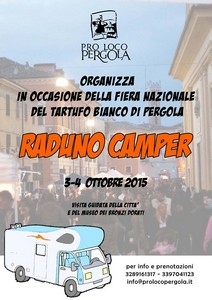 Raduno Camper Pergola