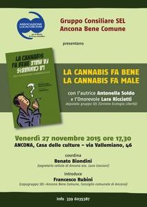 """Libro """"Cannabis Fa Bene Cannabis Fa Male"""""""
