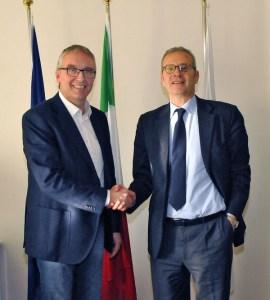 Incontro tra il Governatore Ceriscioli e il Prefetto di Ancona D'Acunto