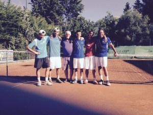 La squadra di Serie C promossa dell'Associazione Tennis Macerata