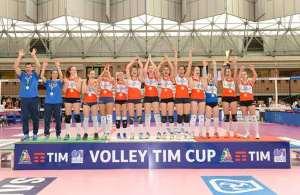 La San Crescenzo di Urbino vince la Volley Tim Cup 2015-2016