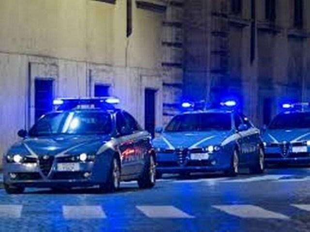 L'intervento della Polizia a Senigallia