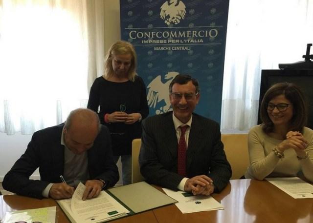 Accordo Confcommercio-Confidicoop Marche