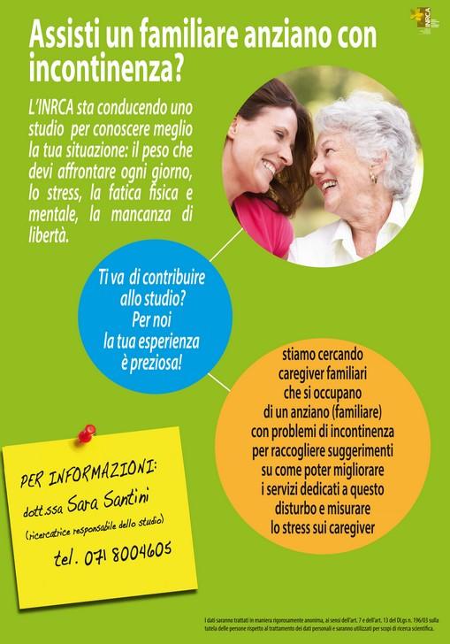 Reclutamento Caregiver