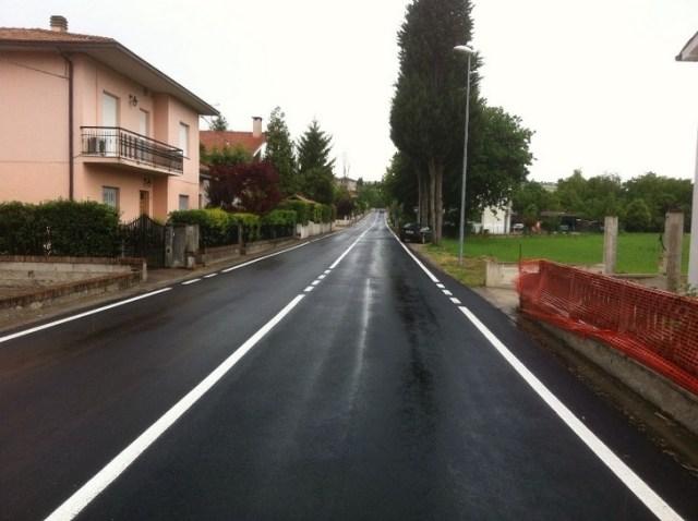 Strada San Filippo sul Cesano