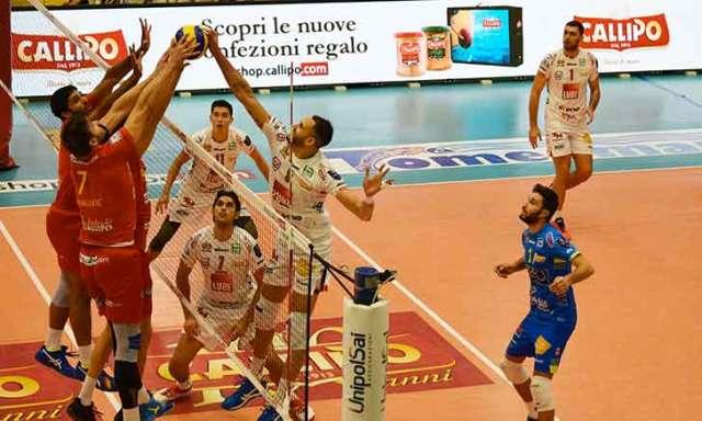 Lube sconfitta da Modena