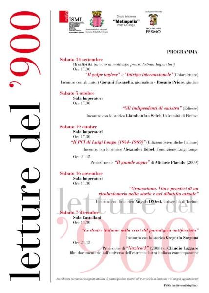 letture900Porto san Giorgio