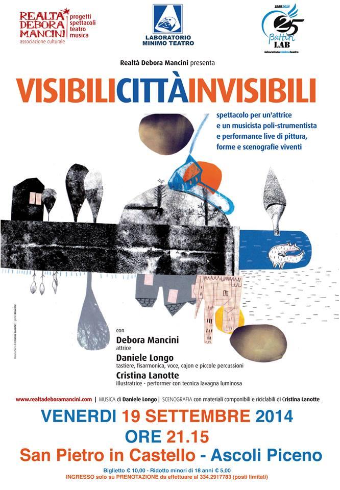 VISIBILI CITTA' INVISIBILI - 19 SETTEMBRE 2014 - ASCOLI PICENO