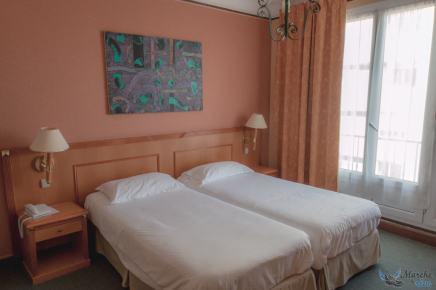 Chambre à l'Hôtel Impérial Ajaccio