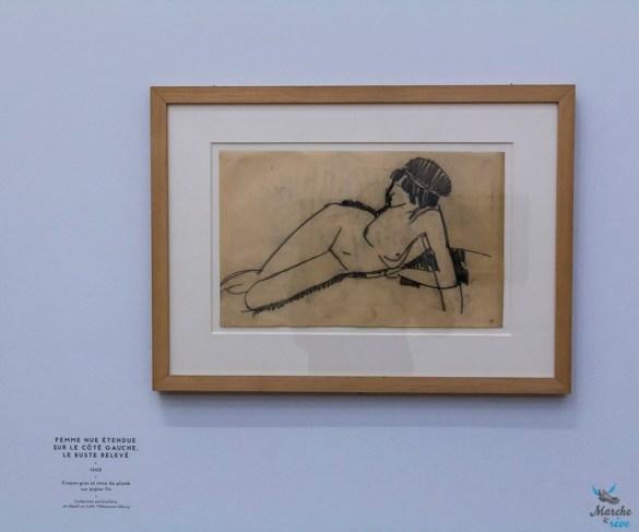 Expo de Modigliani au LAM de Lille