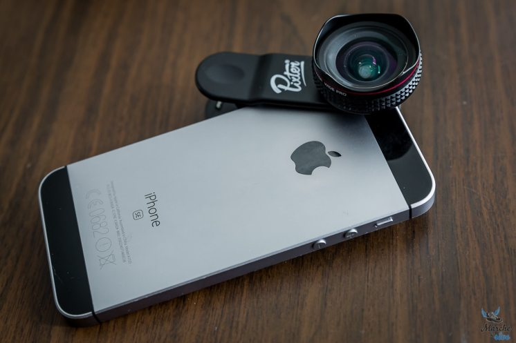 objectif pixter sur iphone se