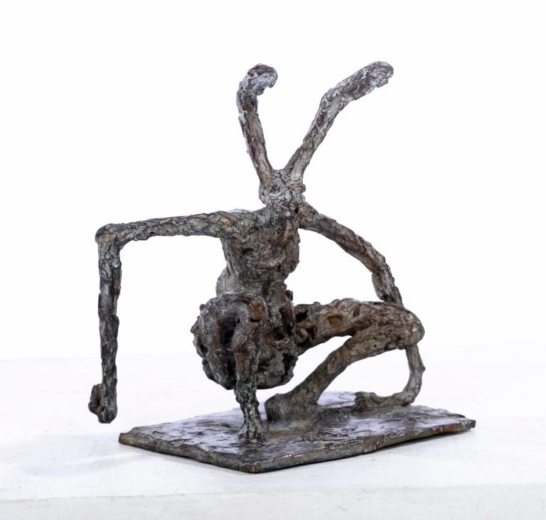 Lapin accroupi - H. 10 cm
