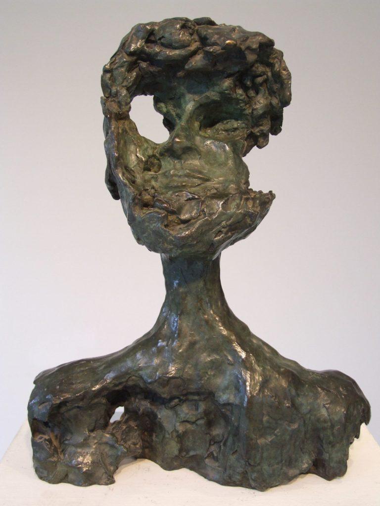 Autoportrait - 2 - H. 38 cm
