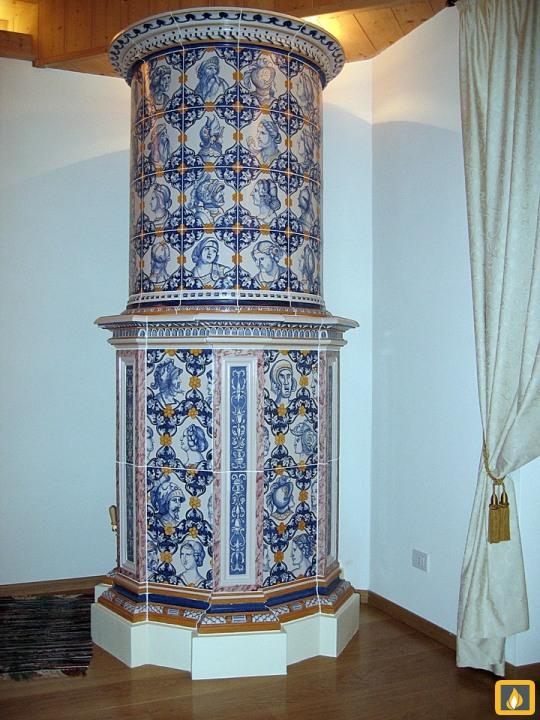 Stufe maiolica in stile