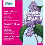 Marché sur l'Eau à la semaine du développement durable à Pantin