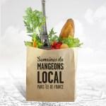 Semaines du 'Mangeons Local'