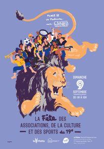 Fete des associations Paris 19