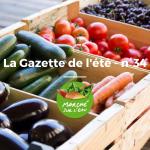 Le 19 Juillet 2020 : La Gazette n°34 – JUILLET 2020