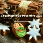 Le 15 décembre 2020 : La Gazette n°36 – DECEMBRE 2020