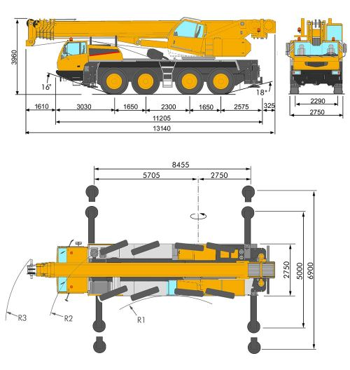 small resolution of  mg 90 4 all terrain crane marchetti dimensions