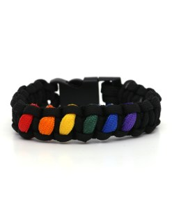 LGBT Gay Pride Rope Chain Bracelets