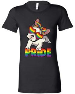 Pug Pride LGBTQ+ Ladies Favorite Tee