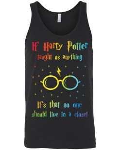 If Harry Taught Us Anything Canvas Unisex Tank