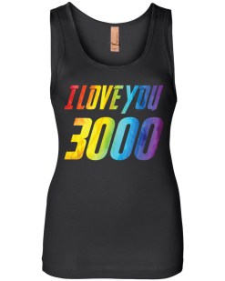 I Love You 3000 Womens Jersey Tank
