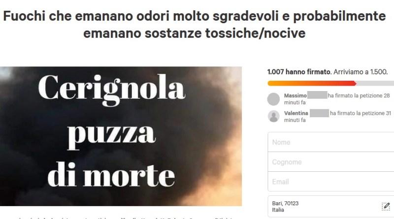 Marchiodoc - Petizione