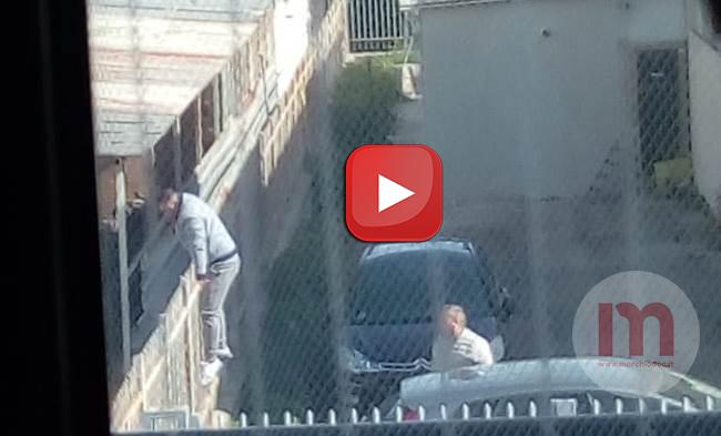 Scappò dal carcere di Foggia, il video dell'arresto di Aghilar