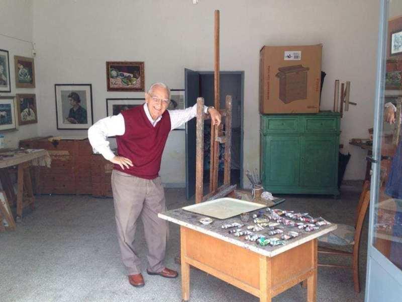 Marchiodoc Cerignola artista cerignolano Giuseppe Dalessandro compie 100 anni