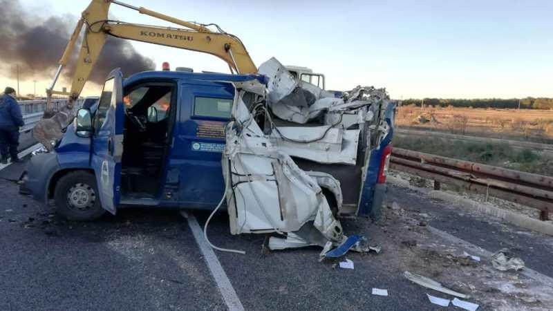 Cerignola: assalto a portavalori sulla A14