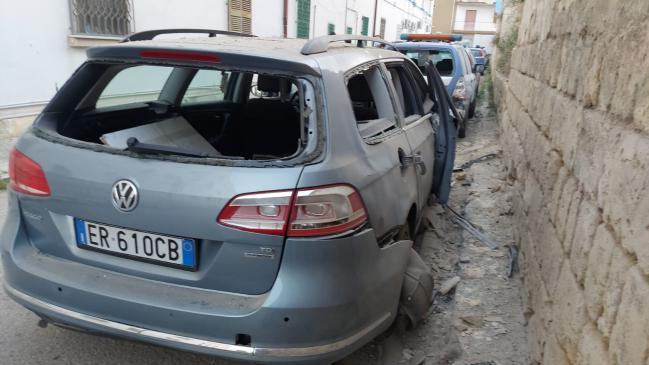 Canosa: esplode bomba vicino il commissariato di Polizia